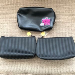 Three MaryKay small makeup bag bundle